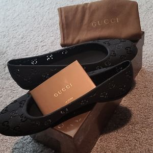Authentic Gucci Jelly ballet flats